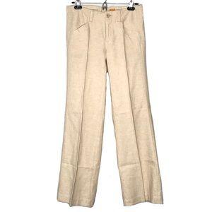 Anthropologie Pilcro Linen Blend wide leg pants 4